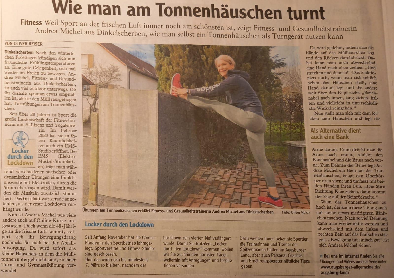 Andrea Michel Zeitung
